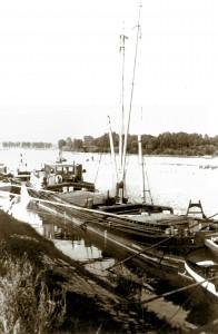 Terra Nova met origineel hijstuig in Speyer (Rijn)